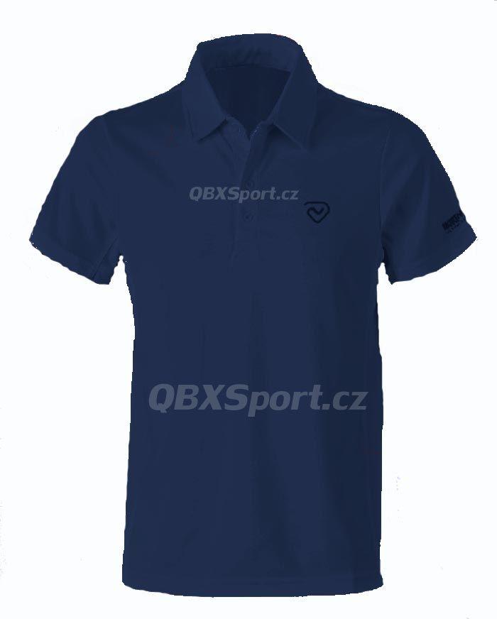 Pánské funkční triko s límečkem Northland Cooldry Gregor Polo Shirt navy