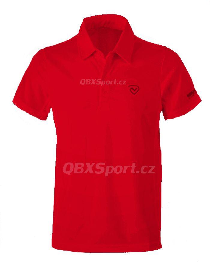 Pánské funkční triko s límečkem Northland Cooldry Gregor Polo Shirt red