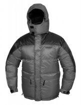 Extrémní péřová bunda Warmpeace Makalu šedá/černá | XL