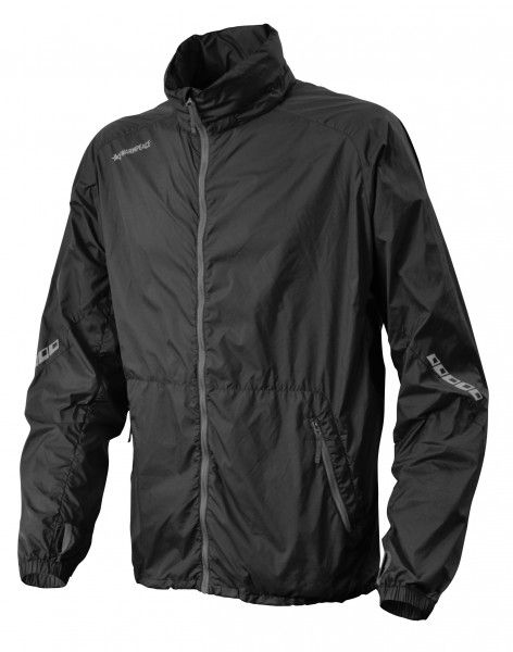 Ultralehká bunda celopropínací Warmpeace Speed black - XXL