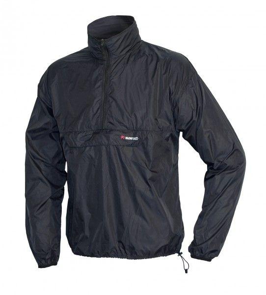 Ultralehká bunda přes hlavu Warmpeace Escape black