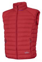 Warmpeace Drake péřová vesta red   L, XL