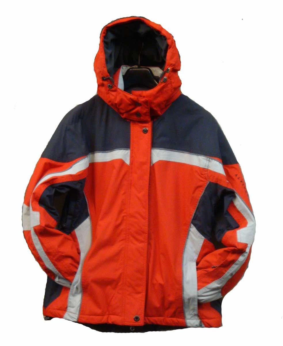 Alpine Pro Sharp Red / Dk.Gray / Lt.Gray Dámská zimní bunda