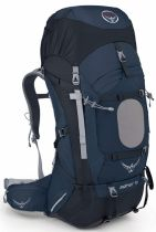 OSPREY Aether 70 III midnight blue top batoh
