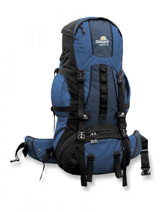 Batoh Corazon Eiger 55 světle modrý