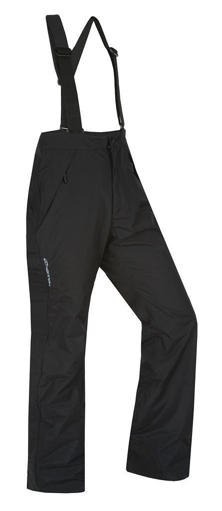 HANNAH Shore II black pánské celorozepínací kalhoty