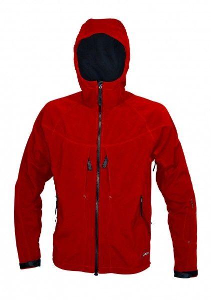 Pánská softshellová bunda Warmpeace Foggy red