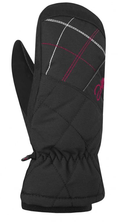 Rukavice Hannah Mitten Lady anthracite/bright rose - S