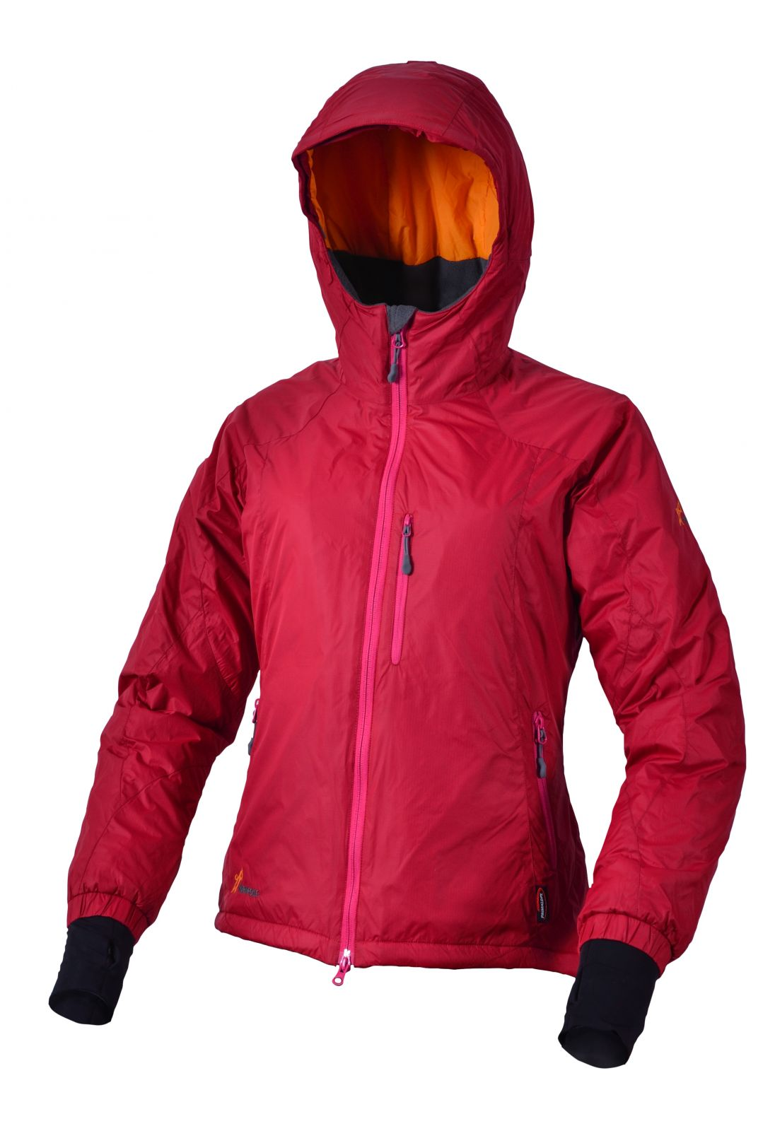 Warmpeace Breeze lady merlot red dámské ultralehká zimní bunda