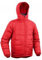 Warmpeace Pioneer formula red pánská péřová bunda   XL
