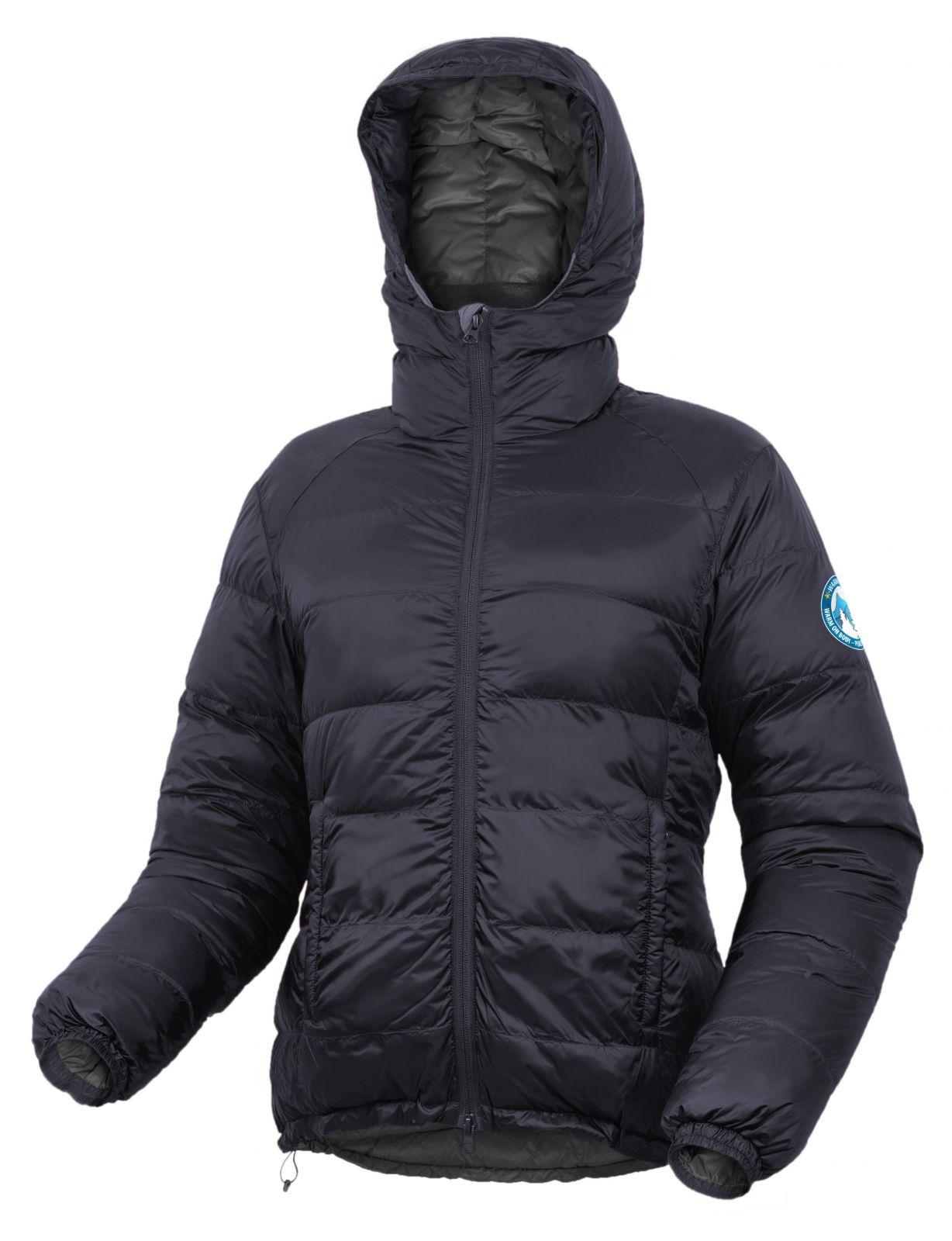 Warmpeace Sierra lady black dámská péřová bunda