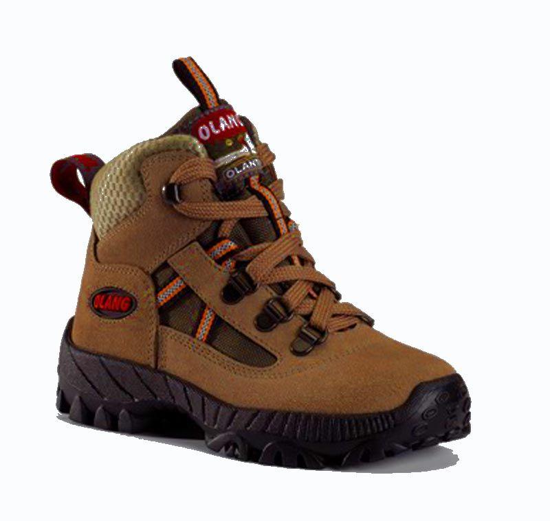 Olang Cortina Kid Cuoio dětská treková bota
