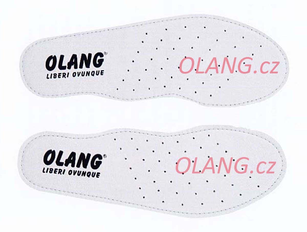 Olang Soft Step stélky z pravé kůže - 46