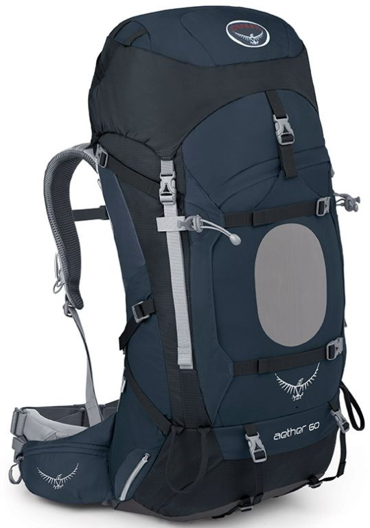 Osprey Aether 60 III Midnight Blue TOP batoh