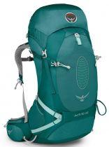 OSPREY Aura AG 50 Rainforest Green Dámský batoh s AntiGravity zádovým systémem