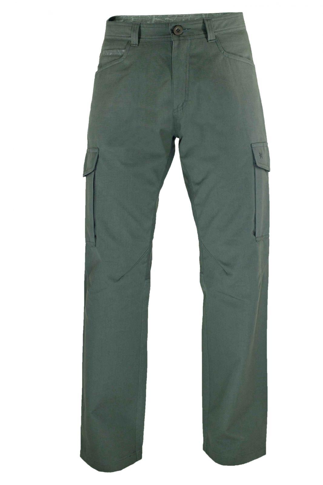 Warmpeace Travers grey pánské kalhoty z vyšší gramáže