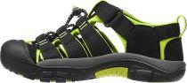 KEEN Newport H2 Junior Black/Lime green Dětský sandál