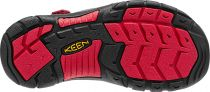 KEEN Newport H2 Junior Black/Racing red multi Dětský sandál