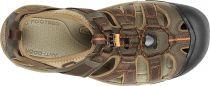 Lehké sandály KEEN Owyhee Men Slate Black / Rust sbrt