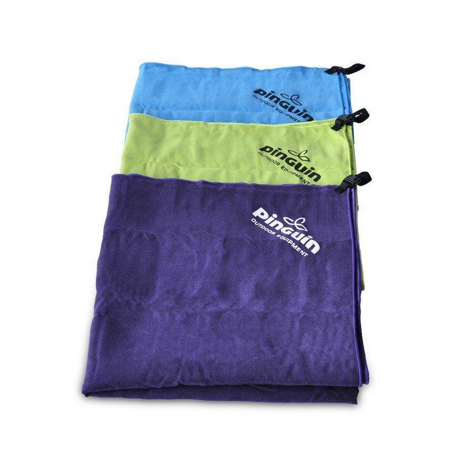Pinguin ručník 40x80 violet rychleschnoucí ručník