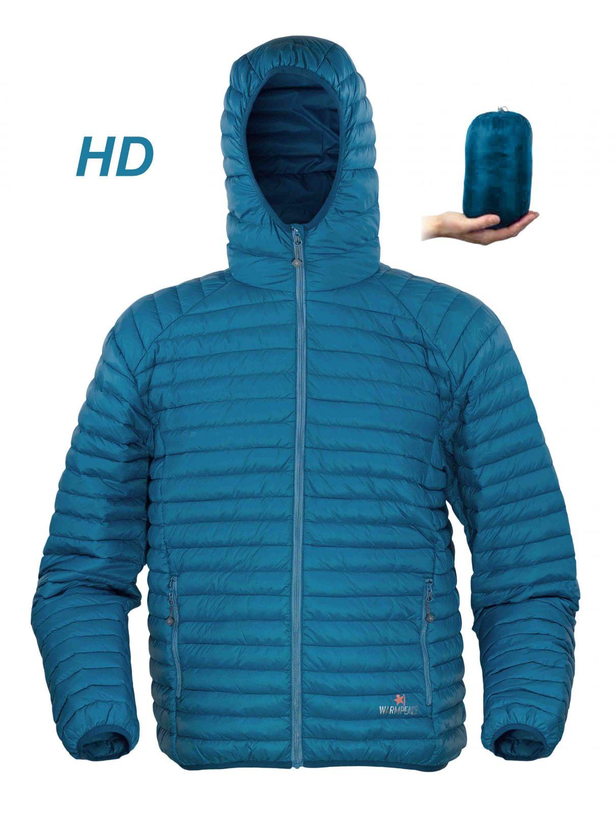 Warmpeace Nordvik HD blue péřová bunda