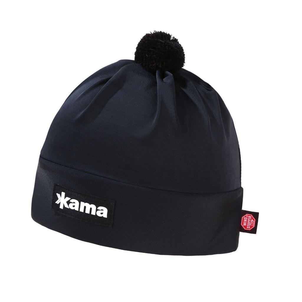 Kama AW45 Windstopper Běžecká čepice černá
