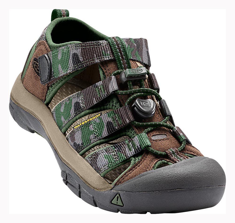KEEN Newport H2 Junior Cascade Brown / Kamo Dětský sandál