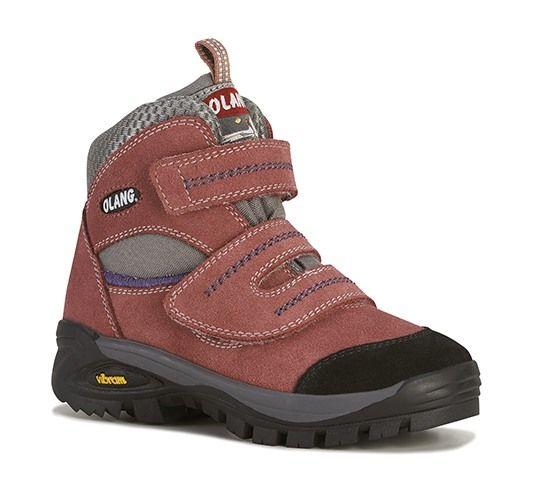 Olang Fox Kid Ciclamino dětská obuv na suchý zip