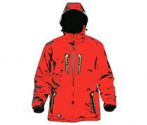 RVC TEEZEE bunda červená