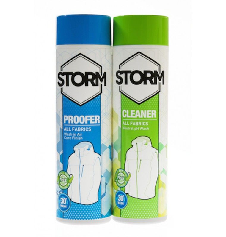 Storm Twin Pack Cleaner + Proofer 2 x 300 ml