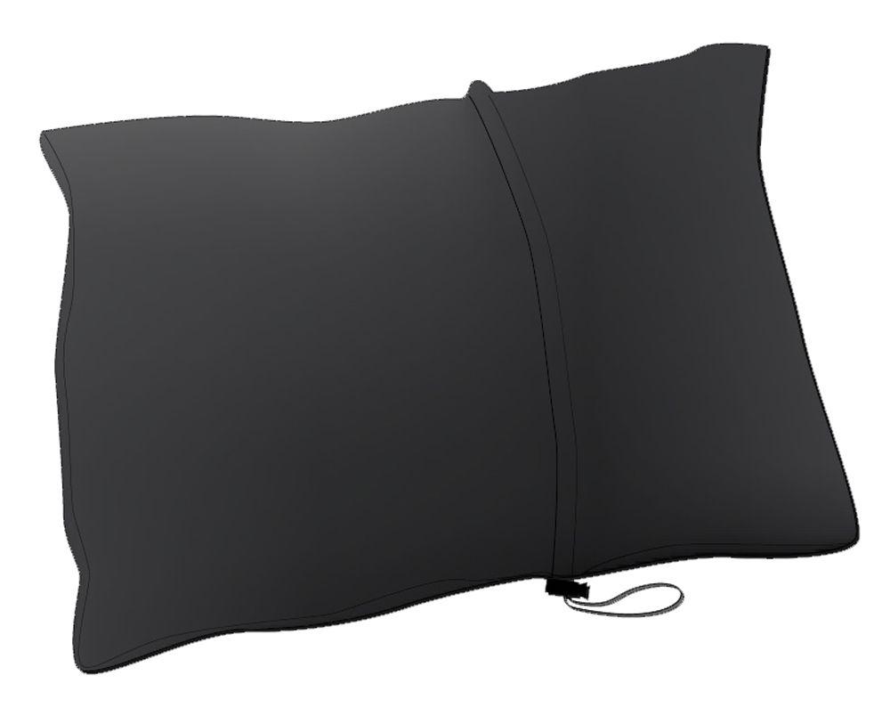 Warmpeace Péřový polštářek black