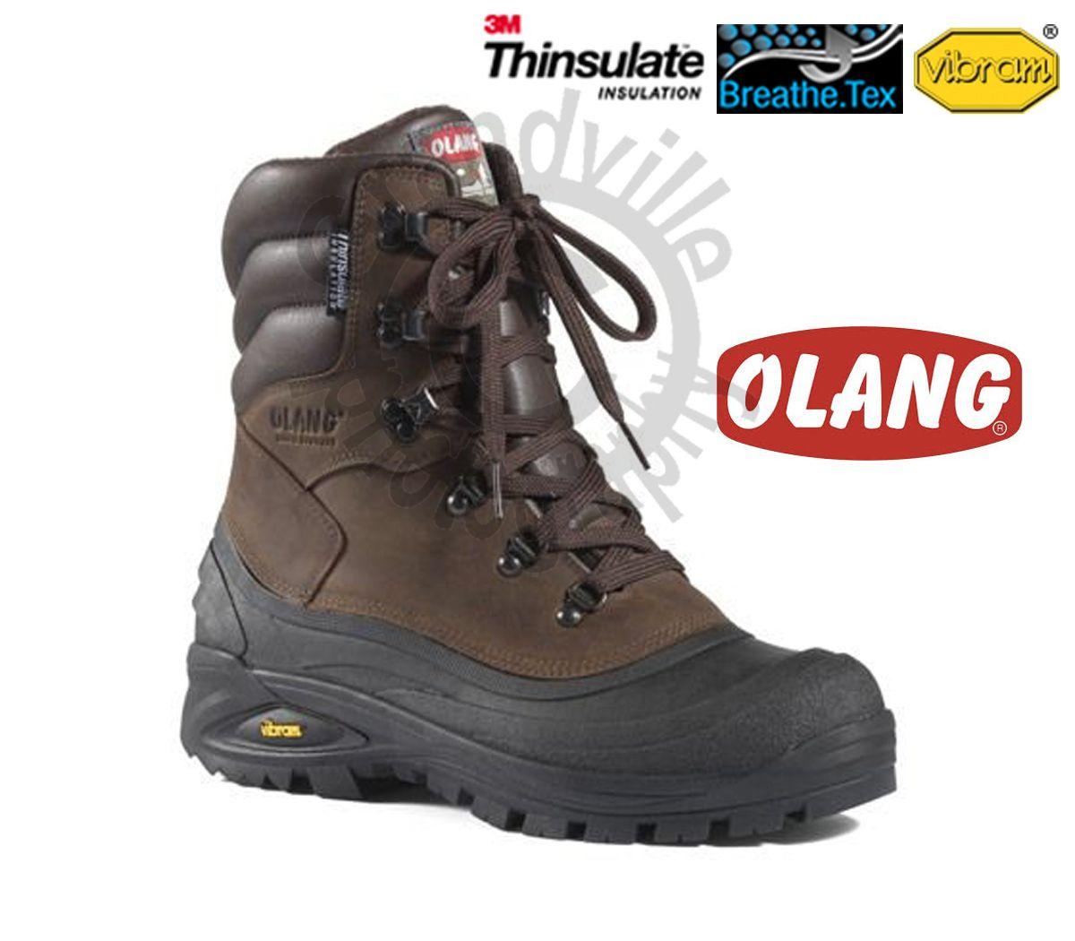 Olang Titanio Cuoio Zímní zateplená obuv - 42