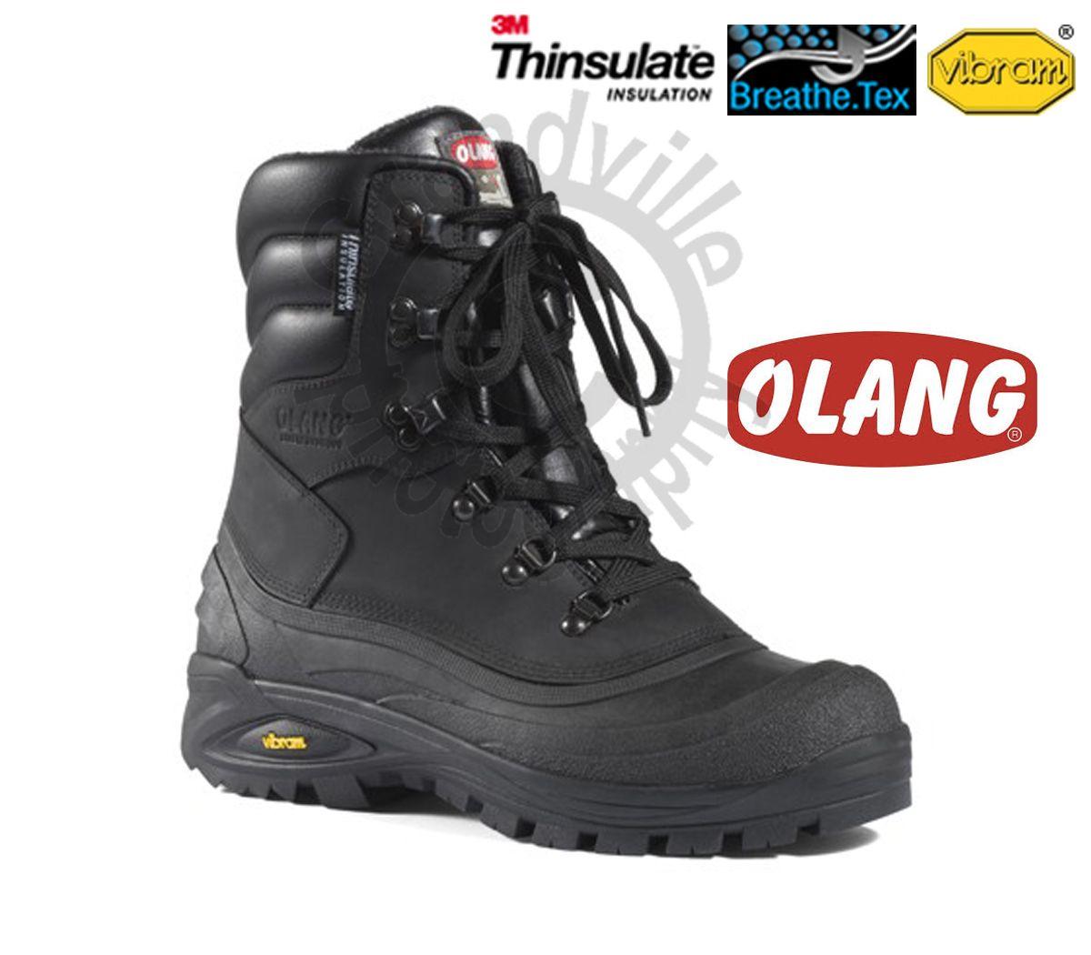 Zímní zateplená obuv Olang Titanio Nero