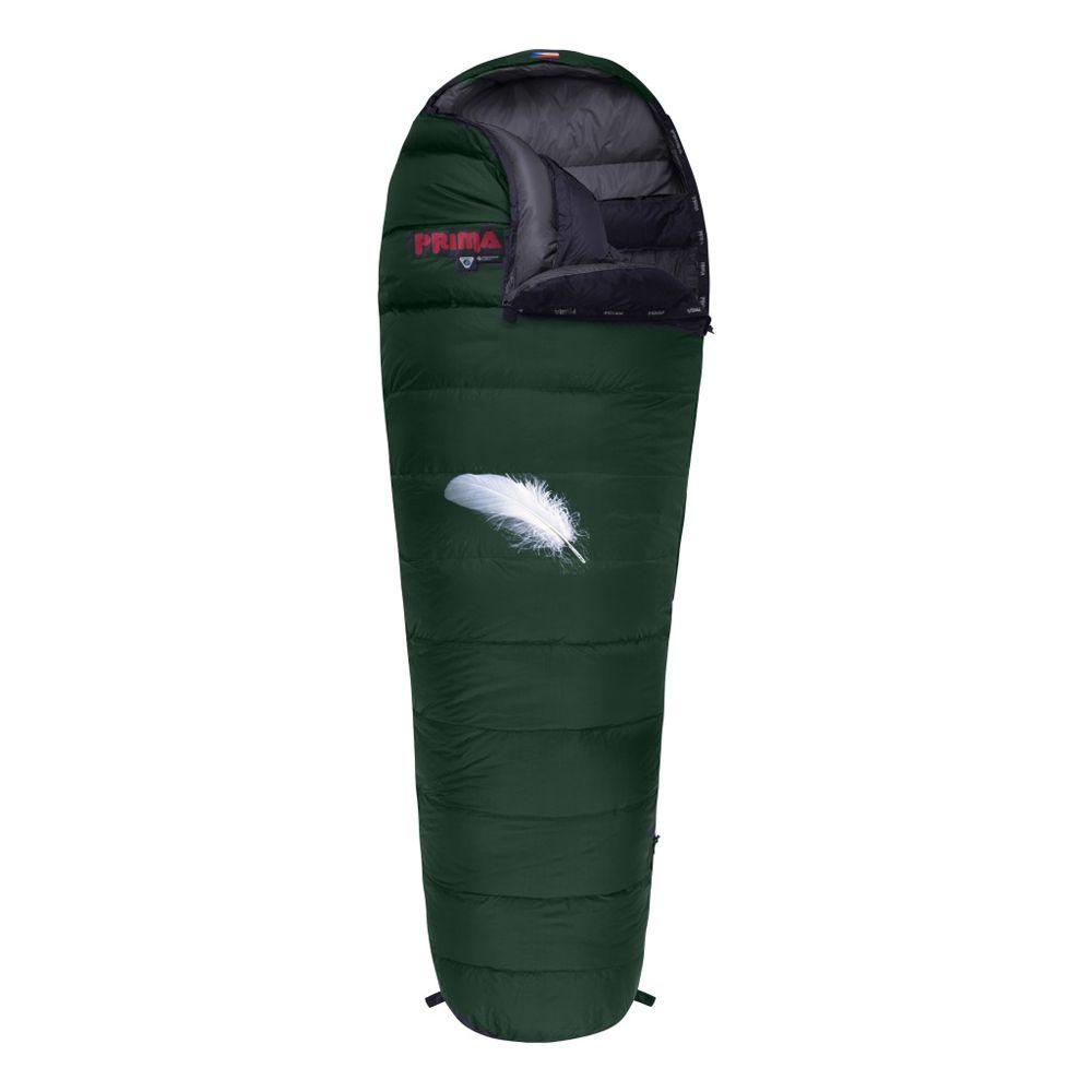 Prima Polar 800 zelený Péřový spacák