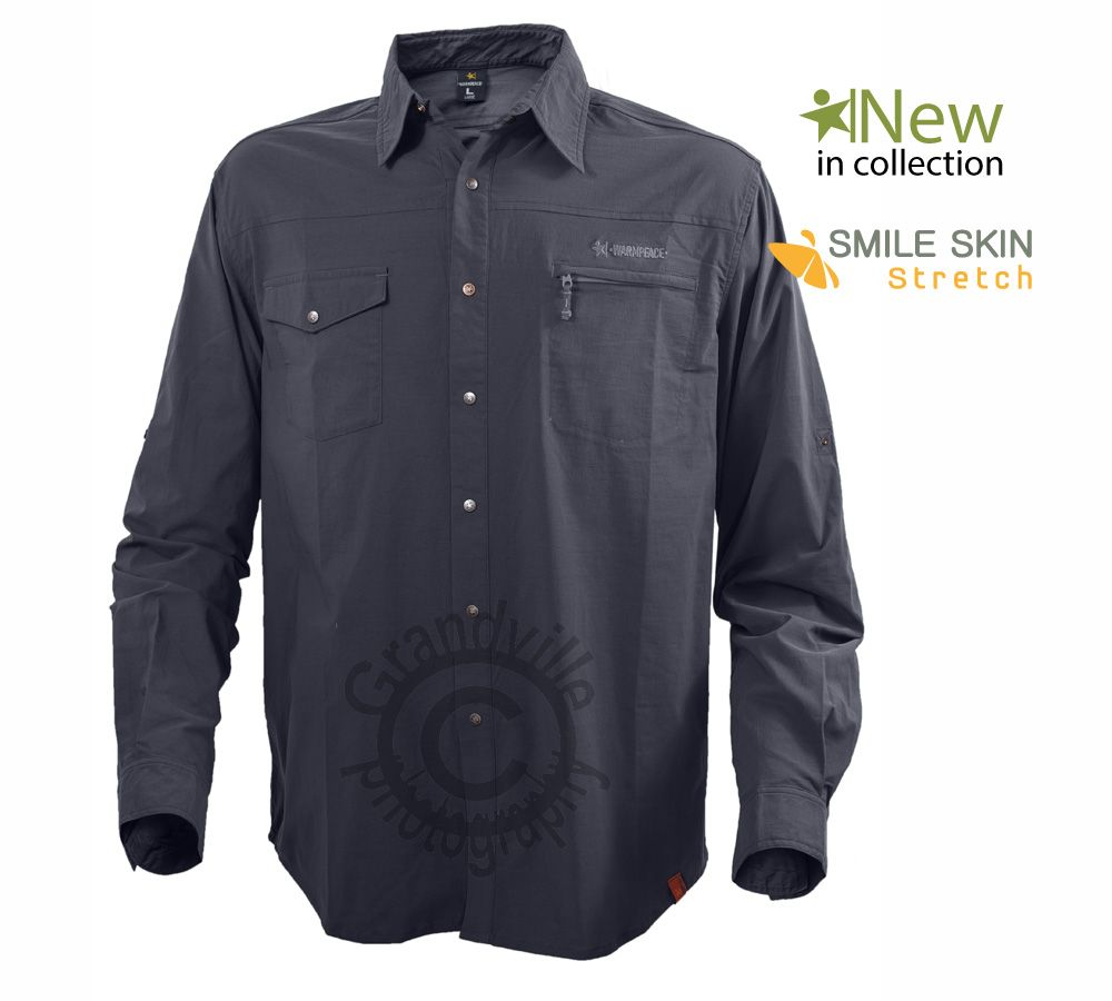 Warmpeace Moody Iron Pánská košile sdlouhým rukávem