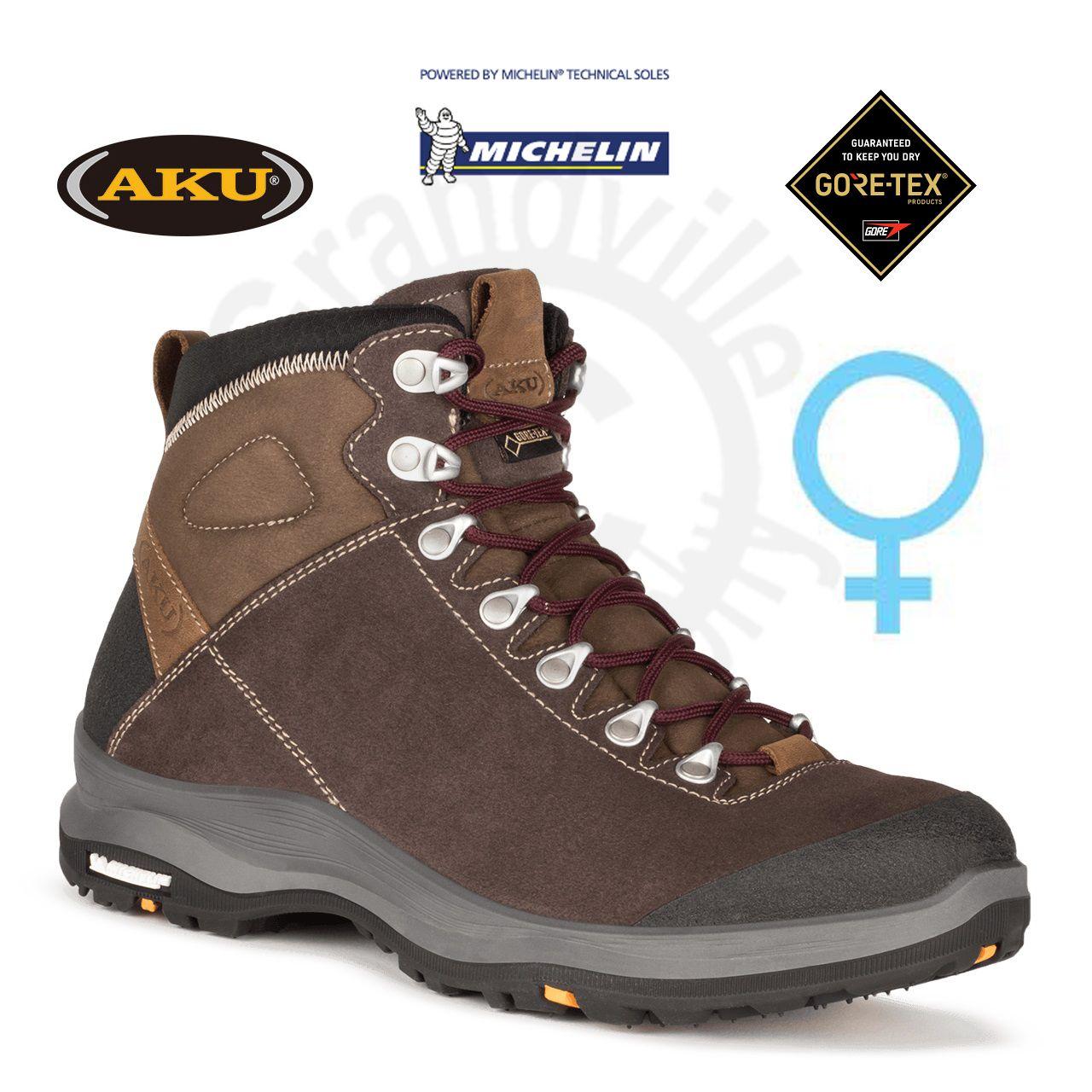 AKU La Val GTX Ws Marrone Treková obuv