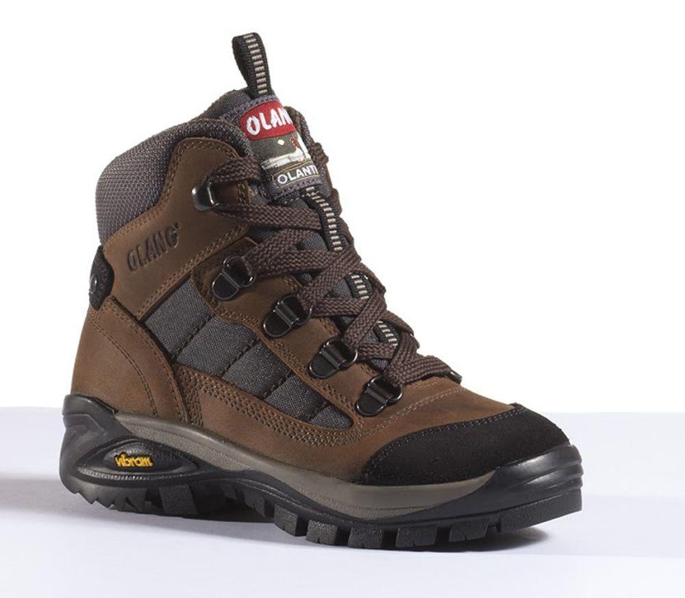 Dětská Treková obuv Olang Nebraska Kid Cuoio - 33