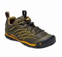 KEEN Chandler CNX JR Dark olive / Citrus