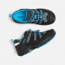 KEEN Hikeport WP JR Black / Blue Jewel