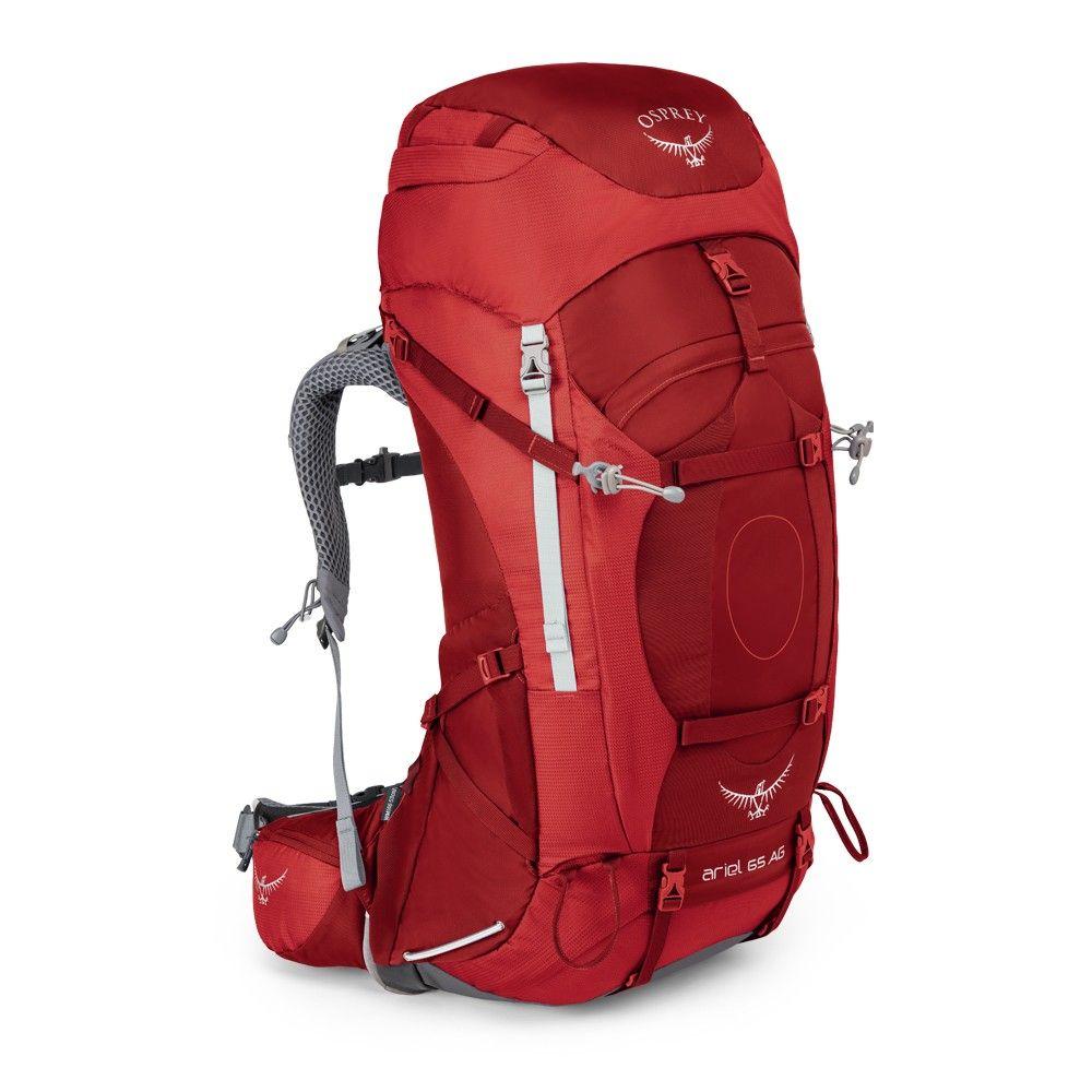 Osprey Ariel AG 65 Picante Red dámský batoh