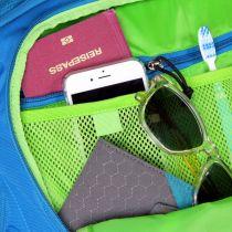 Osprey Ozone 36 Black ultralehká cestovní taška na kolečkách
