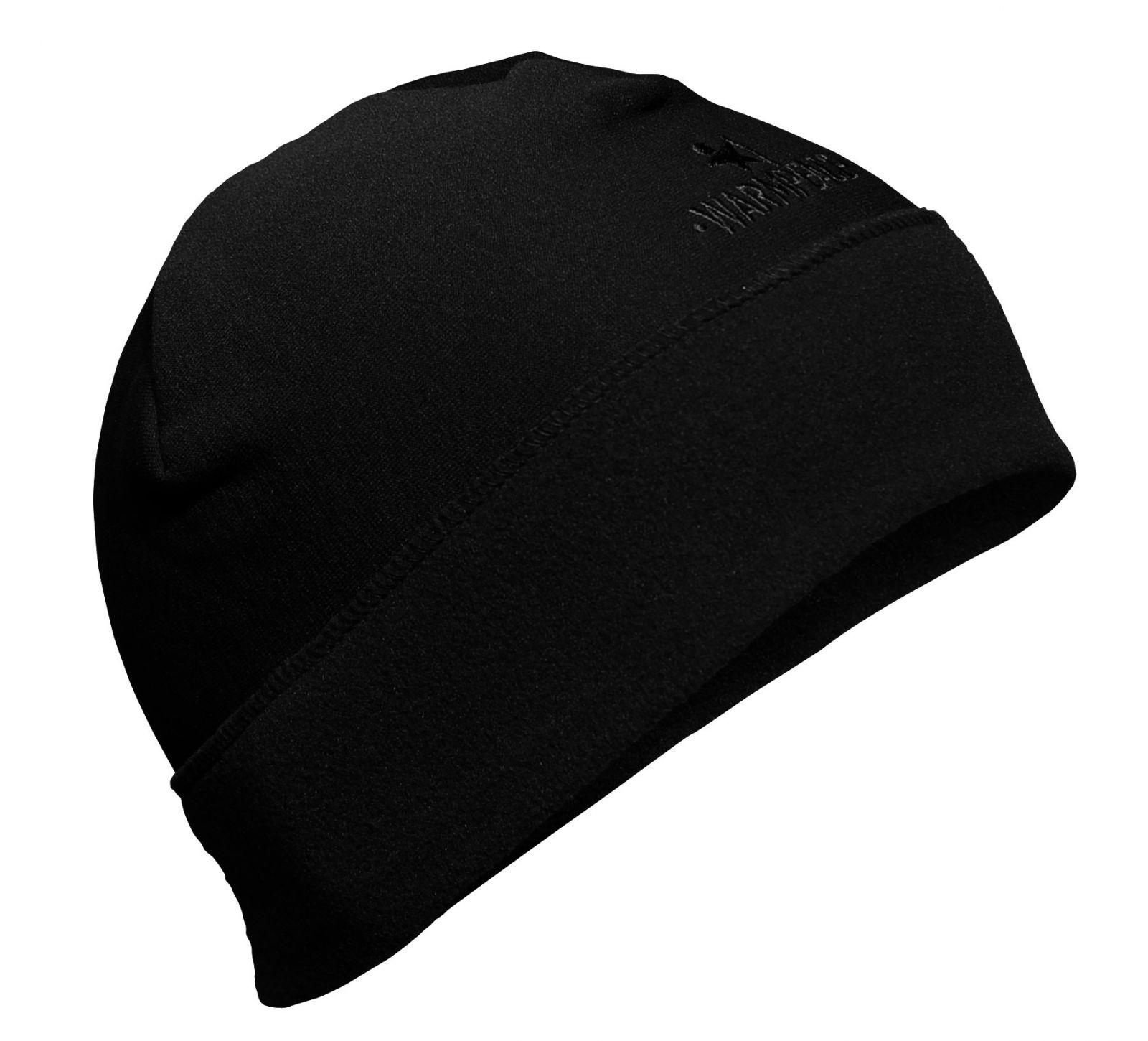 Warmpeace Skip black čepice Polartec Powerstretch